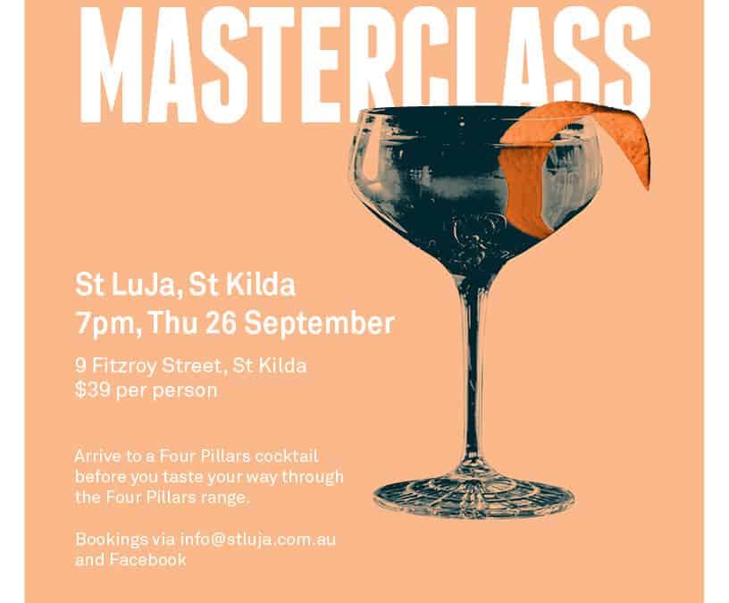 Four Pillars Gin Masterclass